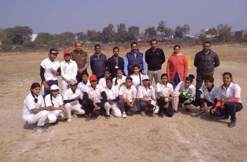 नरसिंहपुर जिला महिला क्रिकेट टीम का हुआ चयन