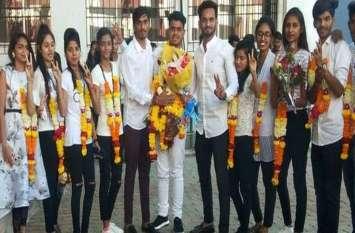 दमण कॉलेज में एबीवीपी ने दर्ज की जीत