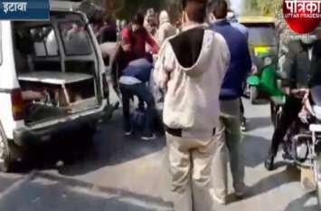 दर्दनाक सड़क हादसे में तीन की मौत, बेकाबू ट्रक ने बाइक में मारी टक्कर