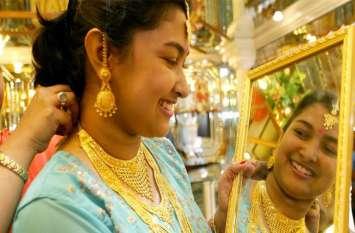 सर्राफा बाजार: 40 रुपए महंगा हुआ सोना, चांदी में भी 210 रुपए प्रति किलो की तेजी