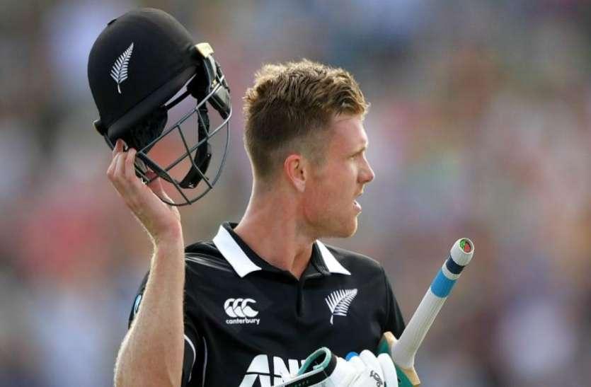 न्यूजीलैंड के विस्फोटक बल्लेबाज जेम्स नीशम श्रीलंका के खिलाफ T20 टीम से बाहर