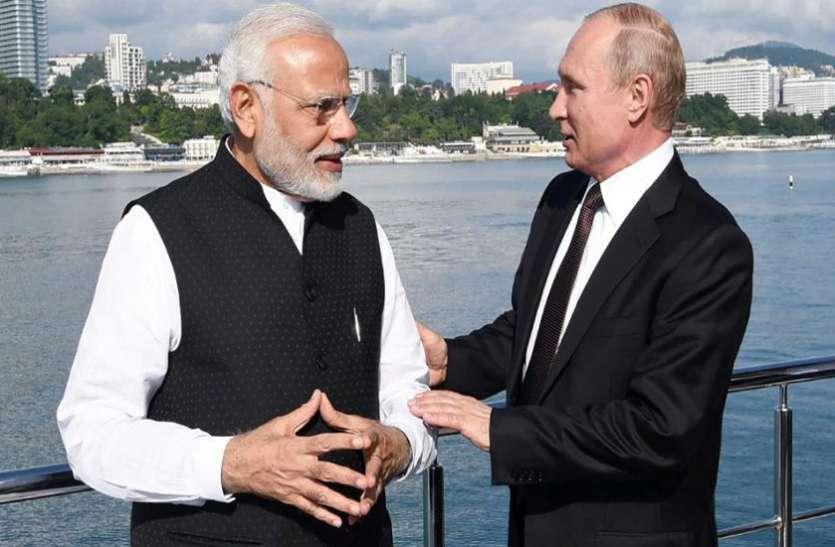 पीएम मोदी से पुतिन ने की चर्चा, आम चुनाव में सफलता की कामना की
