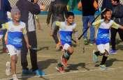 मिनी हॉकी प्रतियोगिता की विजेता हनुमानगढ़ ने टीम इस तरह मनाया जीत का जश्न, देखें तस्वीरें...