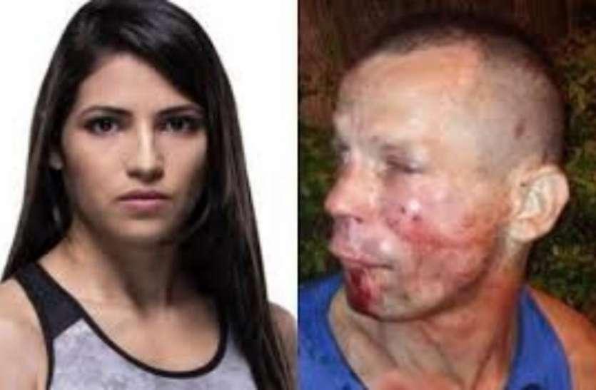 महिला के सामने बंदूक तानी, पड़ गया मुसीबत में, मांगता रहा जान की भीख