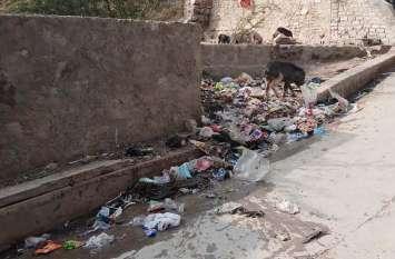 video; सफाई कर्मियों की फौज के बावजूद गंदगी का आलम, आम रास्तों में पानी बहने से लोगों का निकलना तक दूभर