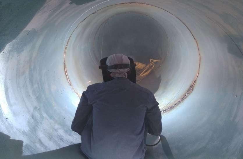 Video: एचडीडी मैथड से यहां पहली बार नेशनल हाइवे 53 के नीचे बना रहे सुरंग, जानिए क्यों