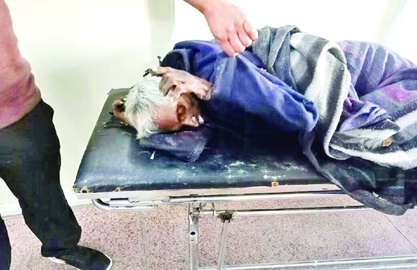 हमीदिया इमरजेंसी के बाहर रातभर पड़ा रहा बीमार बुजुर्ग, किसी ने भी ध्यान नहीं दिया, सुबह ठंड से टूट गई सांसें