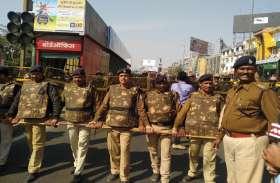 सड़कों पर उतरे गन्ना किसान जमकर किया प्रदर्शन, भारी पुलिस बल तैनात