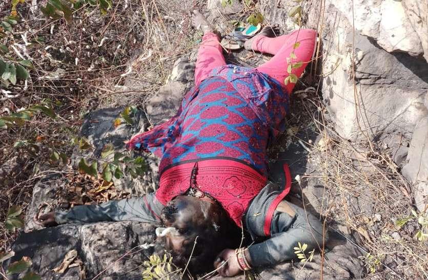 टीपाखोल गांव के पास मिली महिला की लाश, क्षेत्र में फैली सनसनी