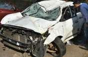 सड़क हादसे में1 की मौत, 3 घायल