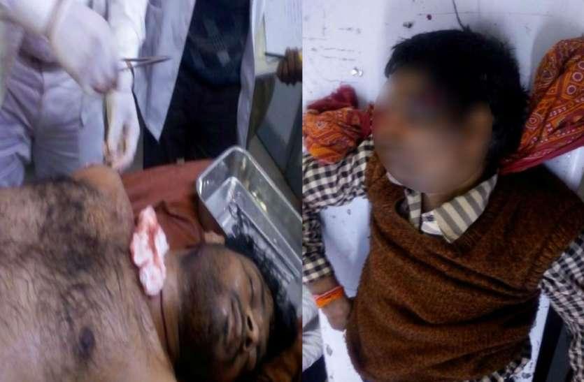 मिर्जापुर में कोतवाली के पास अंधाधुंध फायरिंग, एक की मौत, दूसरे की हालत गंभीर
