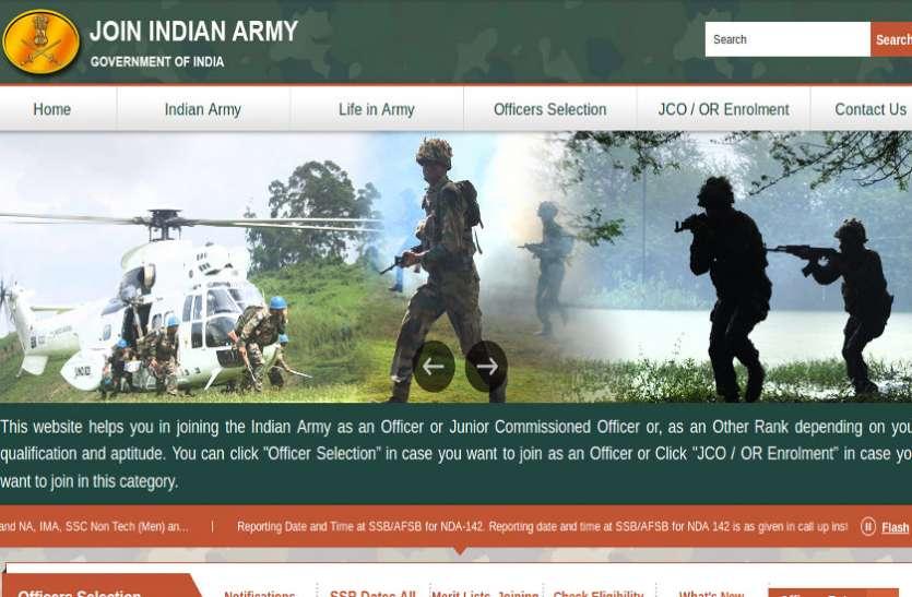 भारतीय सेना में NCC (SPL) भर्ती के लिए आवेदन प्रक्रिया शुरू, अंतिम तिथि 7 फरवरी