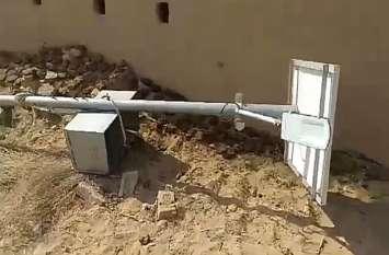छत लगाने को हटाना चाहते थे खंभा, करंट लगा और बुझ गए परिवार के दो चिराग