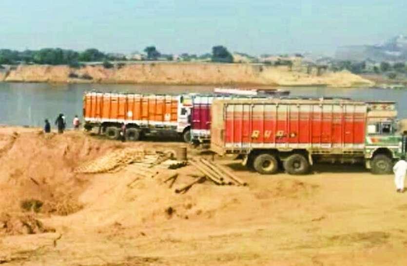 मप्र में अपराधियों की शरण स्थली बन रहीं रेत खदानें, किसानों को रूला रहा कारोबार