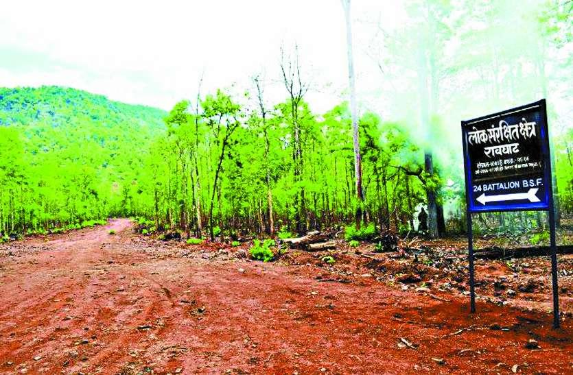 नक्सल प्रभावित क्षेत्र में रेल लाइन बिछाने सरकार देगी 3200 पेड़ों की बली