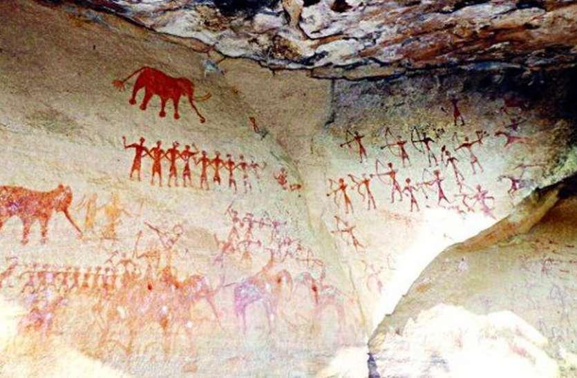 आदिमानव ने 70 हजार साल पहले बनाए चित्र, उदयपुर में यहां दिखेंगे