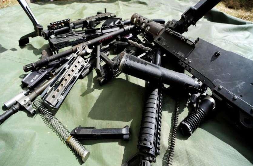 सीरिया से अमरीकी सेना के हथियारों की वापसी शुरू
