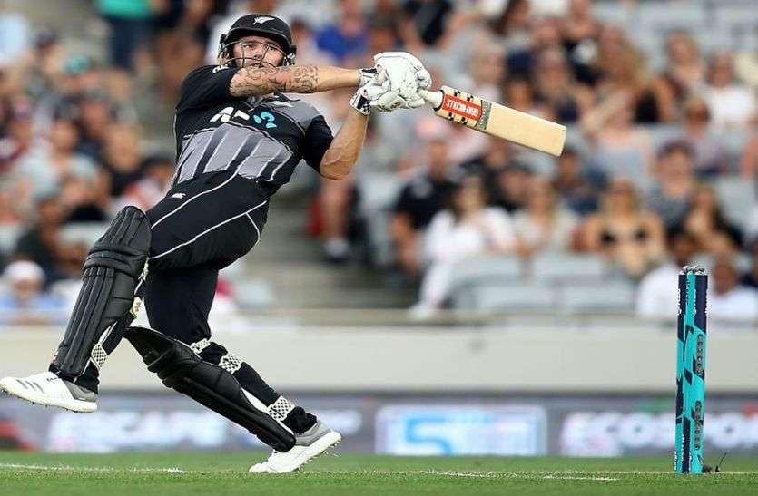 टी-20 : खराब शुरुआत से उबर कर न्यूजीलैंड ने बनाया बड़ा स्कोर, श्रीलंका को 35 रनों से दी मात