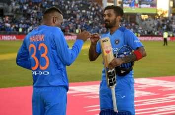 AUS vs IND: हार्दिक पांड्या और लोकेश राहुल पर गिरी गाज, पहले ODI से हुए बाहर