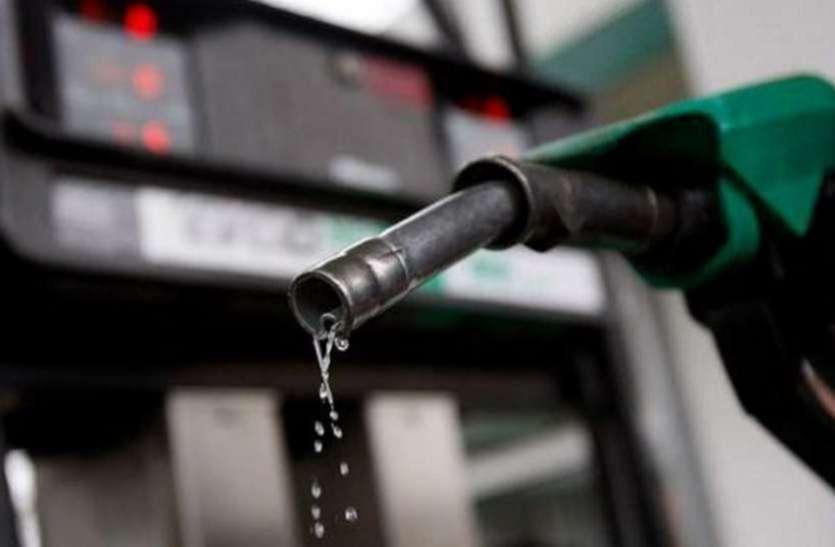 पेट्रोल पर 19 आैर डीजल के दाम में 28 पैसे प्रति लीटर का इजाफा