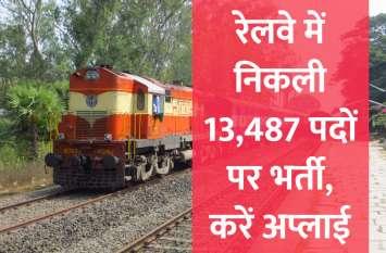 रेलवे सहित इन विभागों में निकली 14,000 सरकारी नौकरियां, जल्दी करें अप्लाई