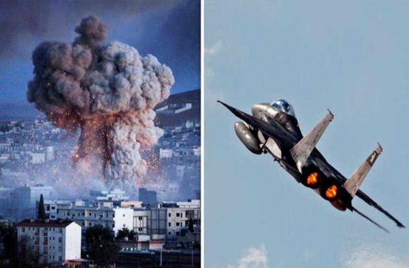 इजराइल ने सीरिया पर किए कई हवाई हमले, निशाने पर दमिश्क एयरपोर्ट
