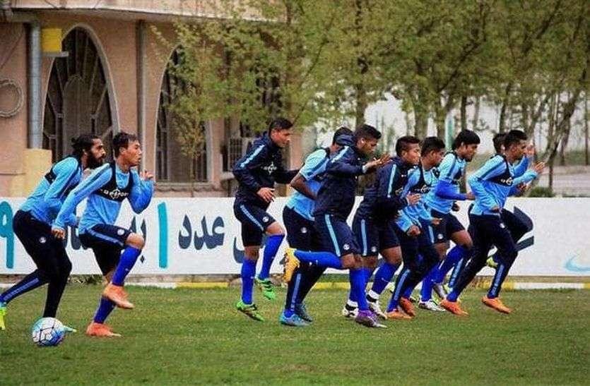 एएफसी एशियन कप फुटबॉल : स्किल ही नहीं, फिटनेस भी बेहतर है इस भारतीय टीम की