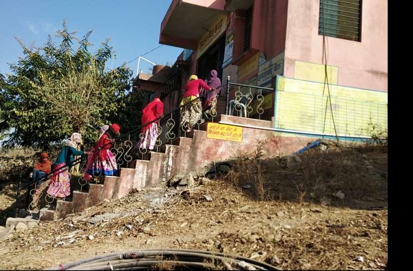 VIDEO : राजस्थान में यहां सबने चढ़ी सीढिय़ां, बस जरूरत थी इसकी