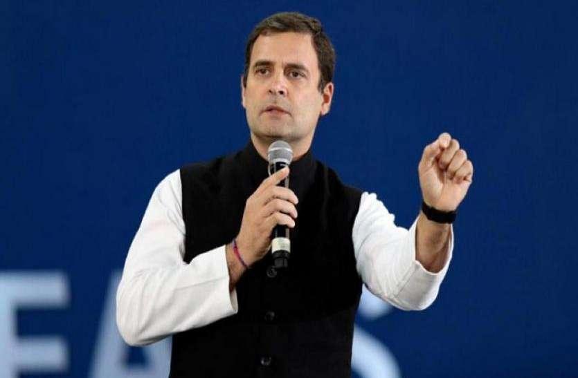 राहुल गांधी: प्रवासियों के मसले पर कांग्रेस गंभीर, चुनाव घोषणा पत्र में शामिल होंगे मुद्दे