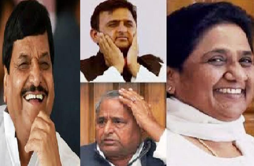 शिवपाल के नेता ने मायावती को सुनाई खरी-खरी, बीजेपी के समर्थन से यूपी की बनी मुख्यमंत्री