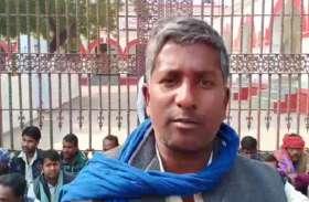 हत्यारे की गिरफ्तारी के लिए पीड़िता कों मिला राजनीतिक समर्थन