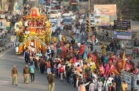 जगन्नाथ यात्रा में उमड़े श्रद्धालु, झांकियां बनी रहीं आकर्षण का केंद्र
