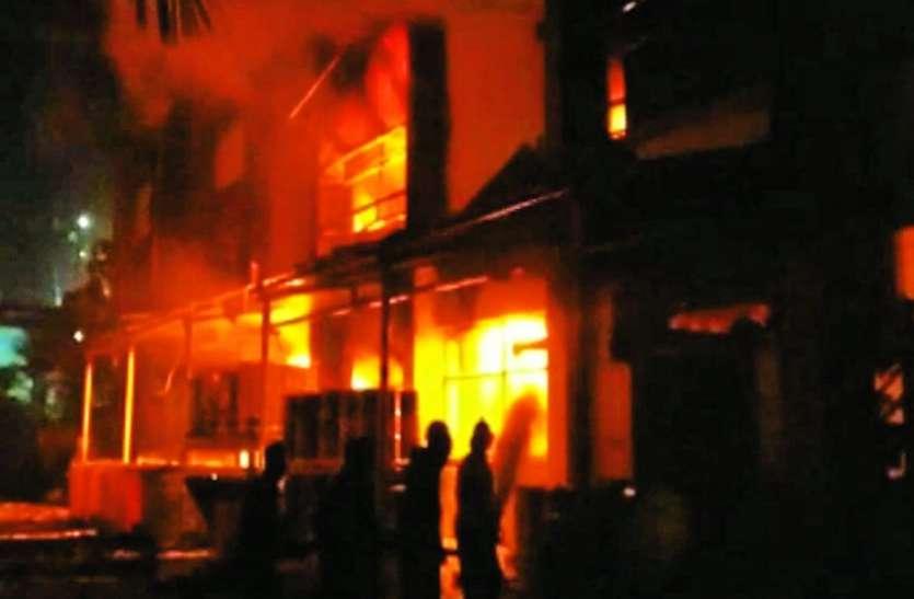 केमिकल कंपनी में धमाके से दहला इलाका