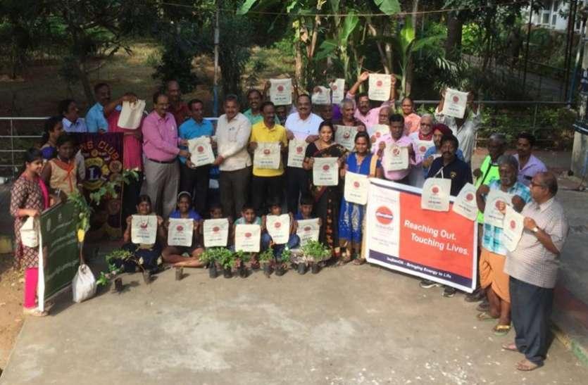 एक्सनोरा ने ग्रेटर चेन्नई कॉर्पोरेशन के साथ बांटे कपड़े के बैग