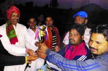 गजल मोबाइल ने जीता एमडीपीएल का खिताब