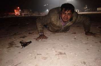 महाराष्ट्र का गोविंदा व कुंडा का रग्घू मुठभेड़ में घायल