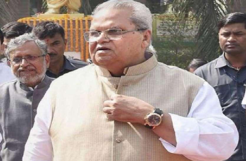 जम्मू-कश्मीर: राज्यपाल मलिक का बड़ा बयान, कहा- आतंकवाद रोधी अभियानों के खिलाफ बोलना राजनेताओं की मजबूरी