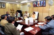 बजट सत्र के सुचारू संचालन को लेकर स्पीकर ने दलीय नेताओं के साथ की बैठक