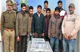 मोबाइल चोरी के आरोप में गिरफ्तार हुए पांच, इन मामलों में 9 मुकदमे दर्ज