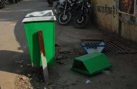 नगर पालिका की शहर को स्वच्छ रखने की सारी कोशिशें नाकाम