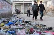 उदयपुरवाटी में छठे दिन में नहीं उठा कचरा, चलते समय भी बंद करनी पड़ रही नाक