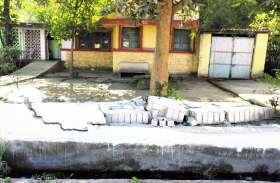 DMF से मनमानी, बनाया है 4.28 करोड़ का एनीकट पर नहीं पहुंचा पानी