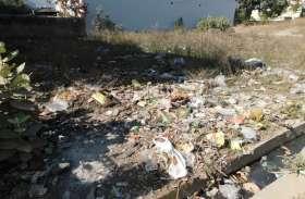 स्वच्छता में ग्रहण, शहर के 130 खाली प्लॉट, डंप हो रहा कचरा