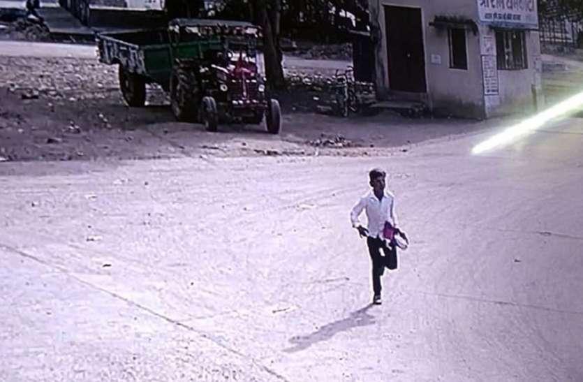 अब तक मंडी से चोरी होता था अनाज  अब दिनदहाड़े हुई बैंक में चोरी से मंडी में सुरक्षा पर उठे सवाल