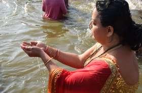 किन्नर अखाड़ा, संगम का तट और मां गंगा-यमुना की लहरों से अठखेलियां, तस्वीरें