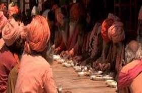 संगम की रेती पर शुरू हुई भंडारे की हरिहर ,आपको मिलेगा लंका राम और राम रस