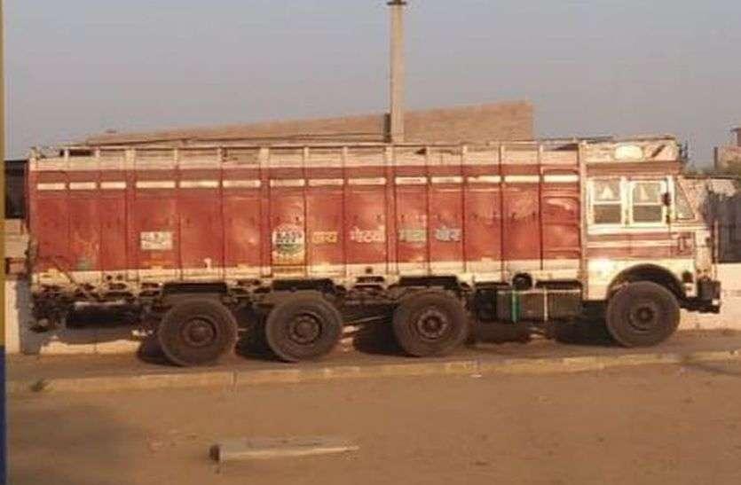 खड़े ट्रक से चुराई बैटरी, फिर भी चोरों को पकड़ नहीं पाई पुलिस