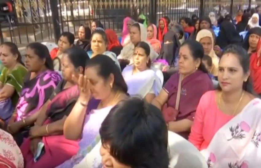 VIDEO: कर्नाटक में सियासी उठापटक जारी, भाजपा के खिलाफ कांग्रेस कार्यकर्ताओं ने किया प्रदर्शन