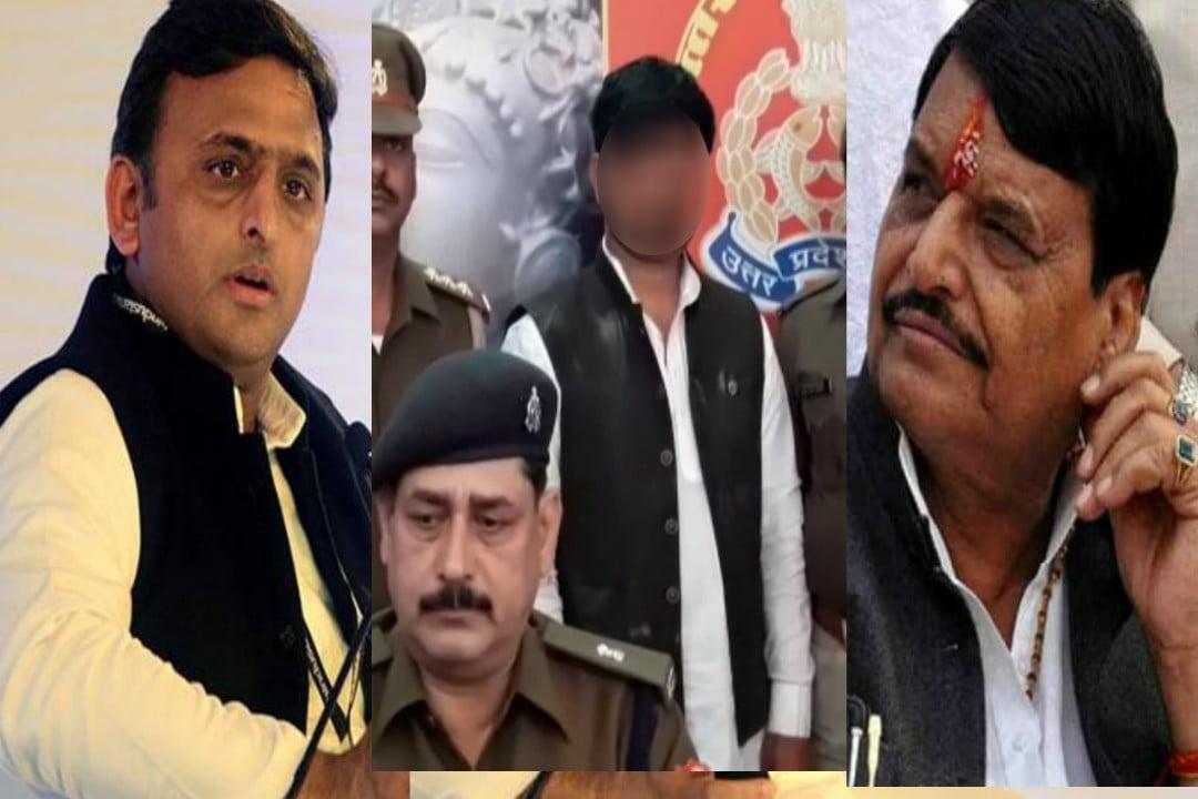 सपा नेता की हत्या में शिवपाल की पार्टी बड़ा नेता गिरफ्तार