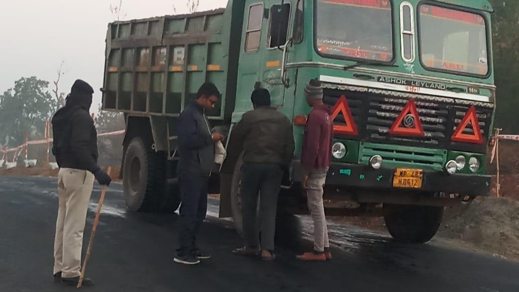 खनिज के अवैध परिवहन को लेकर १५ दिन में ४४ प्रकरण दर्ज किए